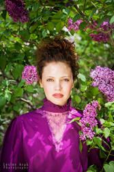 Mariah in the lilac grove II by khavi