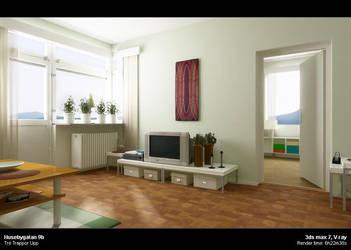 Husbebygatan 9b - Interior by lordolof