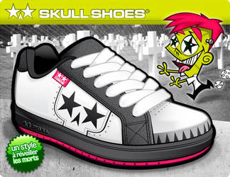 Skull Shoes by cebox