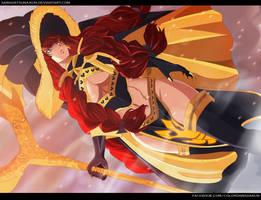 Irene Berselion Spriggan 12| Fairy Tail 483 by Sawadatsuna-kun