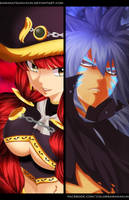 Eileen vs Acnologia | Fairy Tail 488 by Sawadatsuna-kun