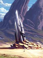 Desert's Edge Derelict by Th3w-san