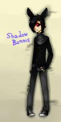 Shadow Bonnie by BlackLu11aby