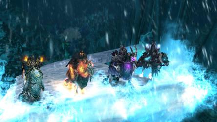 The Four Horsemen by hipnosworld