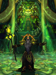 The Voice of Sargeras by hipnosworld