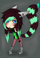 AT: New OC for Toki by Yoruni