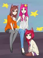 Cats-Gang by Yoruni