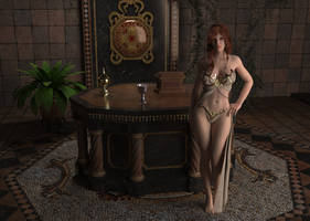 Priestess of Gar Mir by delve-art