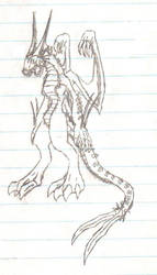 The Calamity Seraph....sketchy by CalamitySeraph