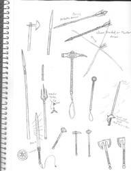 Random Weapons by CalamitySeraph