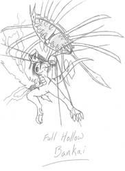 Full Hollow Bankai by CalamitySeraph