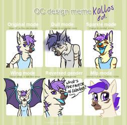 Kallos design meme by calweir