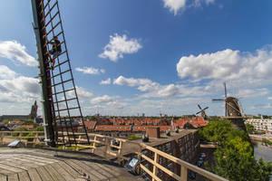windmills, Schiedam, Netherlands by Poulus1967