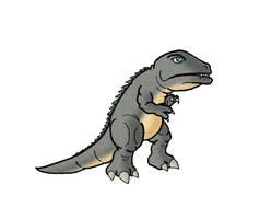 Gorosaurus by ZappaZee