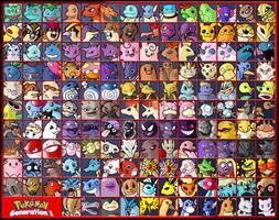 Pokemon - Generation 1 by ZappaZee