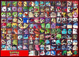Pokemon - Generation 3 by ZappaZee