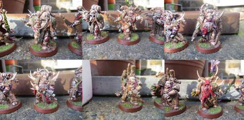 Plague Marine Squad by MOxC