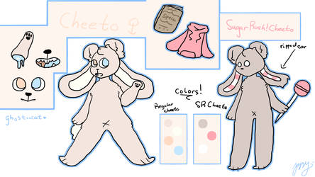 Cheeto Ref (For my brother) by ghostiicat