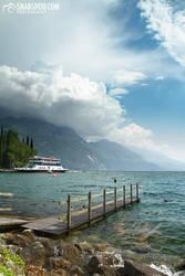 footbridge - Riva del Garda (roadtrip to tuscany) by mystic-darkness