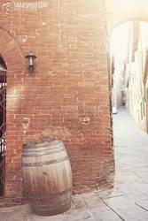 lonely barrel (Siena) by mystic-darkness