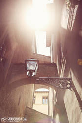 lanterns and arches (Florence) by mystic-darkness