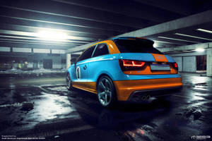 20130122 Audi A1 Gulf Design 01 M by mystic-darkness
