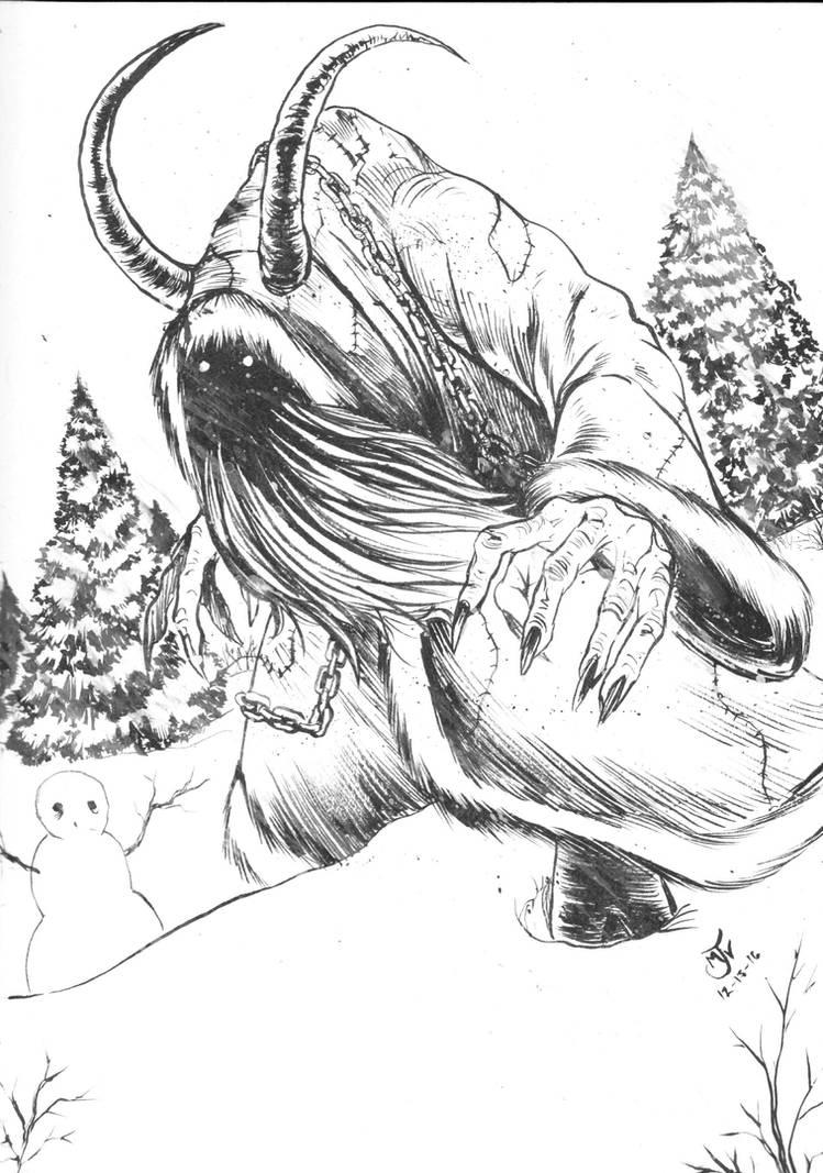 Krampus by Vulture34