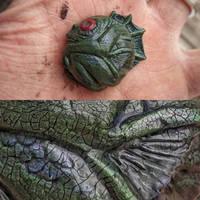 Deep One pin  by Ravencorpus