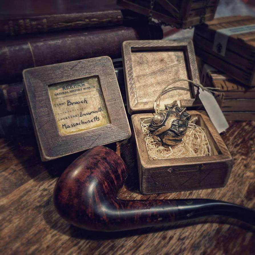 Item# 263 Deep One Brooch  by Ravencorpus