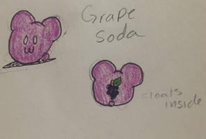 Grape Soda Jelly Mouse Open adopt by hazelwolfmallark