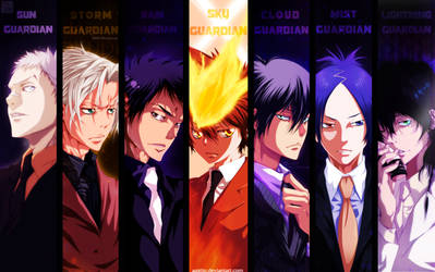 Vongola Family by St4rburn