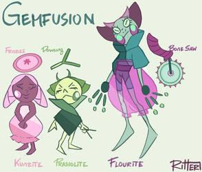 SU FUSION: Fluorite by RitterRebe
