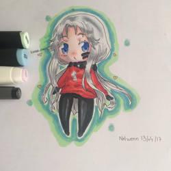 Request OC #5 Kanna-chan  by Liza-chaaan