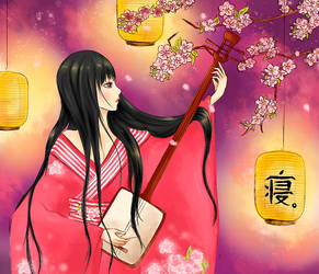 Shamisen by Touch-blue