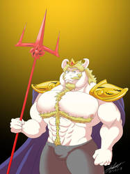Powerful - Asgore by husky50