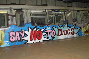 SAY NO TO DRUGS by freyutz