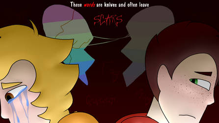 Words are Knives that Scar by Skystar40