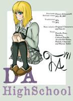 dA High School by FlowerAlchemist91