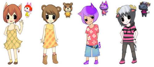 Animal Crossing by ichigo-tan