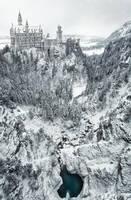 Neuschwanstein Winterland by Durdenyr
