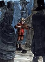 Arthur's Violin by cidaq