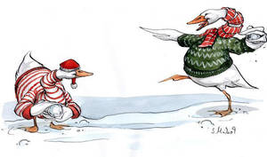 Christmas-card 09 c by cidaq