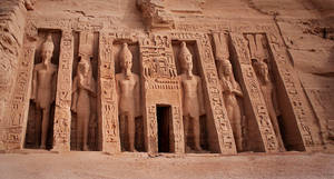 Temple of Nefertari by ruthsantcortis