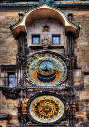 Prague Astronomical Clock by ruthsantcortis