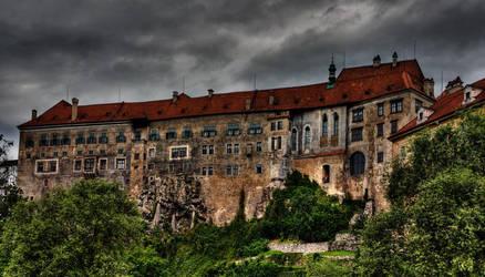 Cesky Krumlov Castle by ruthsantcortis