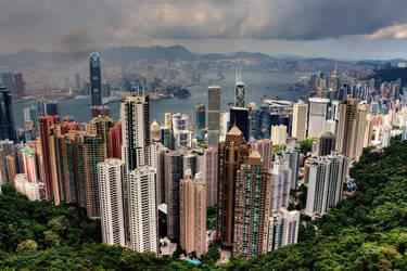 Hong Kong by ruthsantcortis