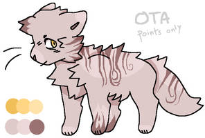 [CHEAPER] Cat ota CLOSED by RainyCrystal42