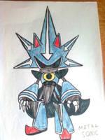 Metal Sonic by LiJacob888
