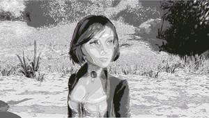 ASCII Elizabeth from Bioshock Infinite by LiJacob888