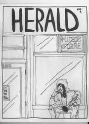 Herald Cover WIP by trumpetplaya